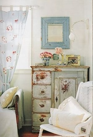 shabby chic curtains firany